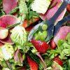 Salada Primavera com Morangos