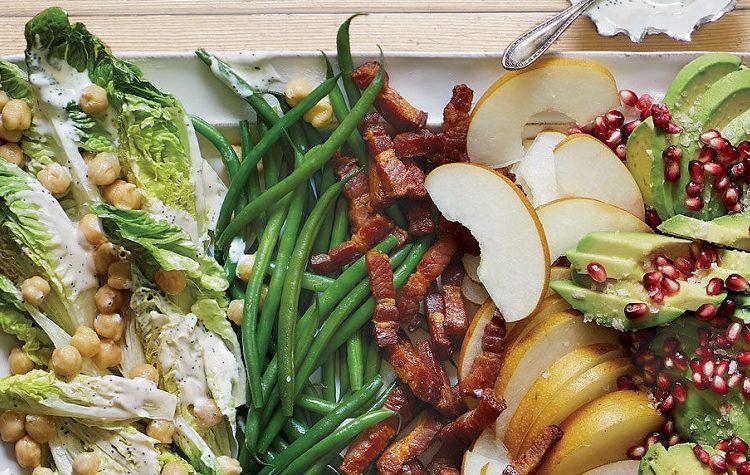 Salada de Frutas com Molho de Limao