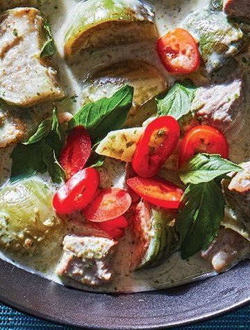 Caril Verde de Carne