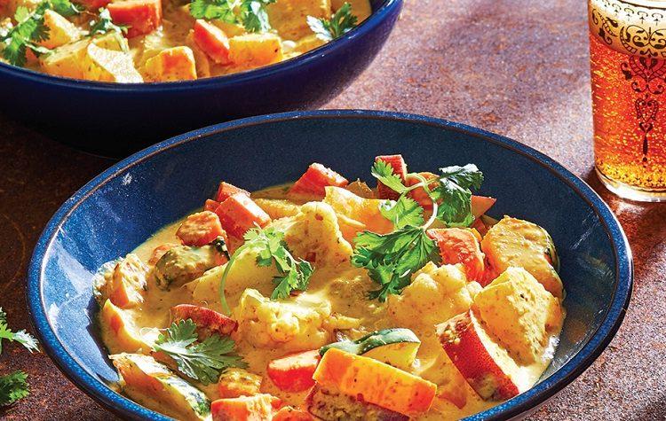 Curry de Vegetais Amarelos